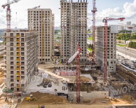 ЖК «City Bay»: ход строительства , Сентябрь 2021
