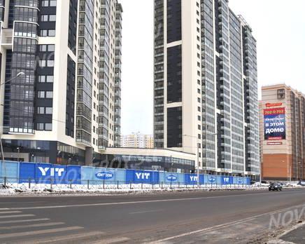 Вид с улицы на ЖК «Vita Nova», Февраль 2013