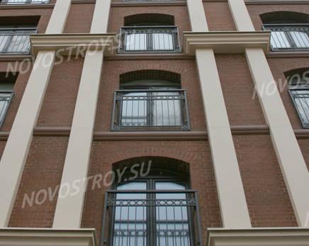 Отделка фасада жилого комплекса «Новая династия», Декабрь 2011