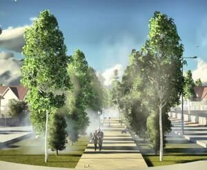 КП «Лесной уют»: визуализация
