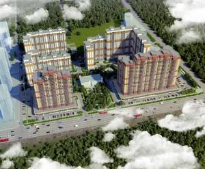 ЖК «Лесной городок» (Балашиха): визуализация