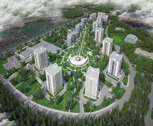 Проект ЖК «Зелёный Бор»