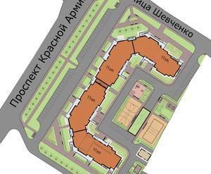 Генеральный план «Дома в г. Сергиев Посад»