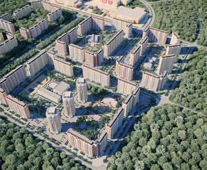 ЖК «Некрасовка-Парк»: визуализация