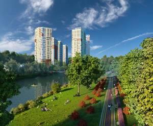 ЖК «Garden Park Эдальго»: визуализация