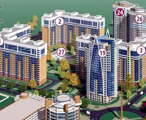 ЖК на Юбилейном проспекте, 24 - проект микрорайона