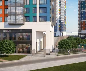Визуализация проекта жилого комплекса «Оптиков, 34»