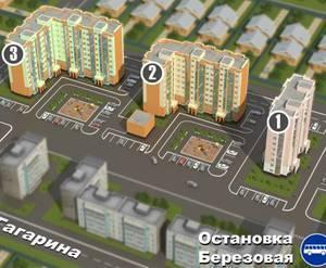 ЖК Микрорайон «Гагарина»
