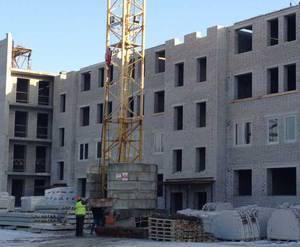 """Строительство ЖК """"Белые озера"""", июнь 2014 г."""