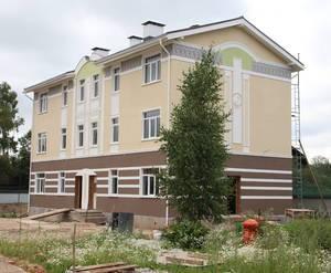 Дом с торца ЖК «Виндава». Завершающий этап.
