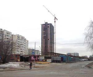"""Строительство ЖК """"Гагаринский"""". Март 2014 г."""