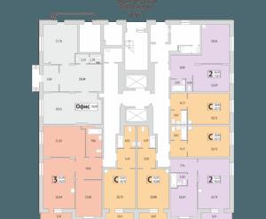 Дом №279/4, планировки 1 этажа