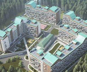 ЖК «Шереметьево парк»: визуализация