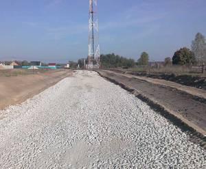 строительство внутрипоселковых дорог 22.09.2014