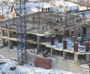 """Строительство ЖК """"Шесть звезд"""". Декабрь 2014 г."""
