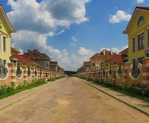 Коттеджный поселок «Мой Дом»: визуализация