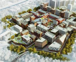 ЖК «Город Кристалл»: визуализация