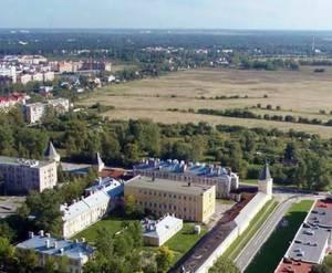Жилой комплекс на Сапёрной улице (вид из центра Пушкина)
