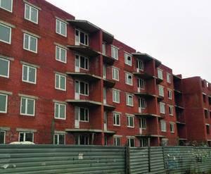 Жилой комплекс на улице 18 января (корпус 2, 18.09.15)