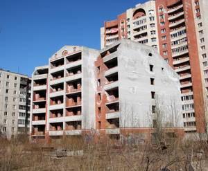 ЖК на Шипкинском переулке: семиэтажный недостроенный корпус