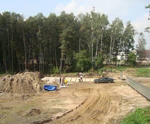 МЖК «Заречный парк»: идет строительство