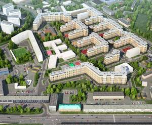 Жилой комплекс на территории завода «Ильич» (визуализация)