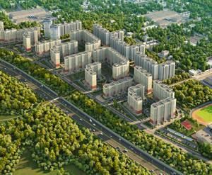 ЖК «Восточный» (Звенигород): визуализация