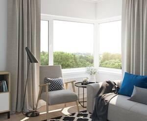 ЖК «Новый дом в Луге»: отделка квартиры (визуализация)