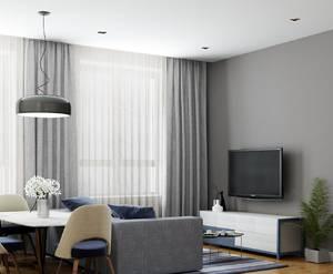ЖК «Новый Зеленоград»: визуализация отделки гостиной