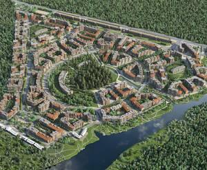 ЖК «Лесобережный»: визуализация