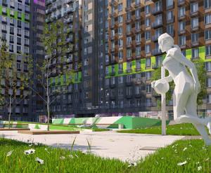 МФК «Легендарный квартал на Березовой аллее»: визуализация