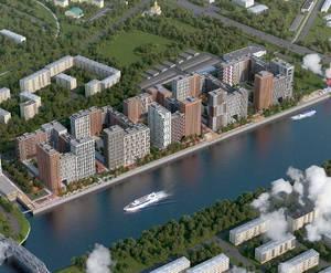 ЖК «Западный порт. Кварталы на набережной»: визуализация