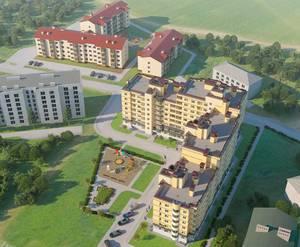 Строительство ЖК «Апрель» (20.12.2014)