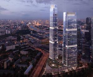 МФК «Neva Towers»: визуализация