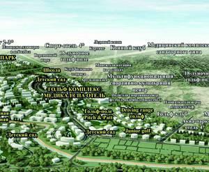 МЖК Gatchina Gardens: визуализация, общий вид