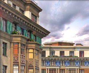 Жилой квартал в Каменке: визуализация