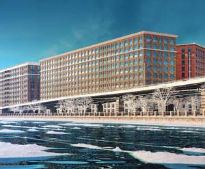 Лофт-проект «Docklands»: визуализация