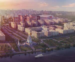 ЖК «Город на Реке Тушино-2018»: визуализация