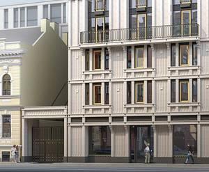 МЖК «Hovard House»: визуализация
