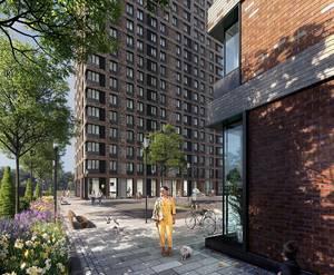 МФК «Комплекс апартаментов «Смольная,44»: визуализация