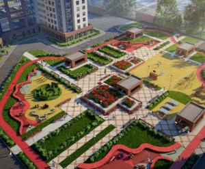 ЖК «Европейский парк»: визуализация