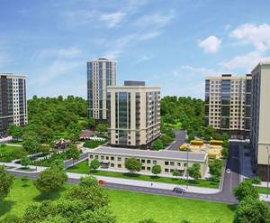 ЖК «Зеленоград Сити»: визуализация