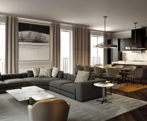 «Апартаменты Fairmont Hotels»: визуализация