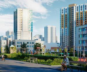 ЖК «Цветной город»: визуализация