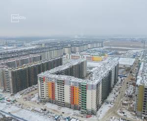 ЖК «Солнечный город»: ход строительства корпуса №7.2