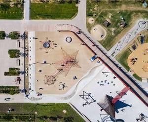 «Бунинские луга»: визуализация