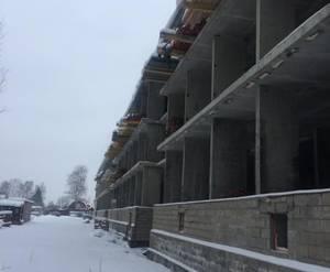 Малоэтажный ЖК «Дмитровские горизонты»: ход строительства корпусов 7
