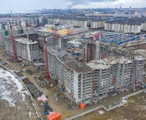ЖК «Солнечный город»: ход строительства корпуса 9.1