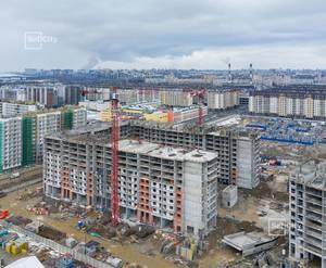 ЖК «Солнечный город»: ход строительства корпуса 9.2