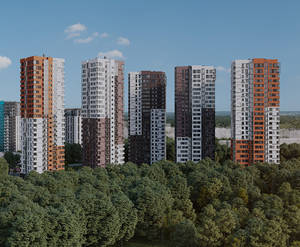 ЖК «Одинград»: визуализация